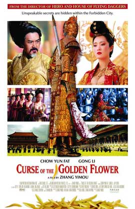 Curse of the Golden Flower - 11 x 17 Movie Poster - Style B