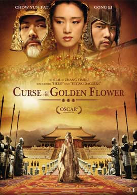 Curse of the Golden Flower - 11 x 17 Movie Poster - Swedish Style A
