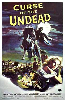 Curse of the Undead - 11 x 17 Movie Poster - Style A