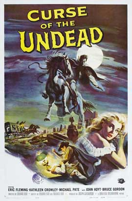 Curse of the Undead - 27 x 40 Movie Poster - Style A