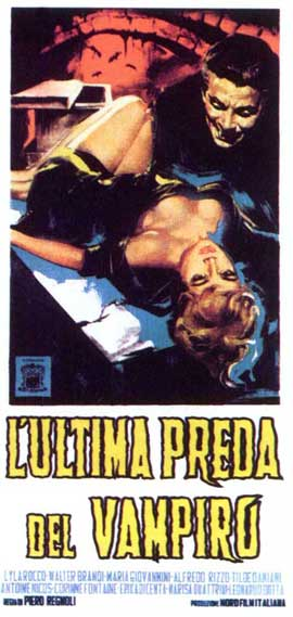 Curse of the Vampire - 11 x 17 Movie Poster - Italian Style A
