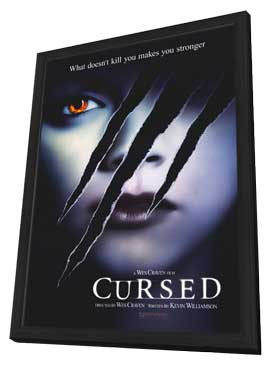 Cursed - 11 x 17 Movie Poster - Style A - in Deluxe Wood Frame