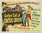 Curtain Call at Cactus Creek - 11 x 17 Movie Poster - Style A