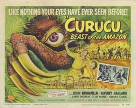 Curucu, Beast of the Amazon - 11 x 14 Movie Poster - Style A
