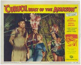 Curucu, Beast of the Amazon - 11 x 14 Movie Poster - Style G