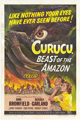 Curucu, Beast of the Amazon - 11 x 17 Movie Poster - Style A