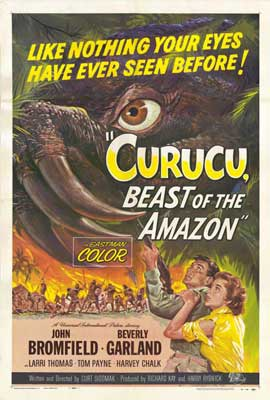 Curucu, Beast of the Amazon - 27 x 40 Movie Poster - Style A