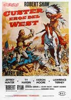 Custer of the West - 11 x 17 Movie Poster - Italian Style A
