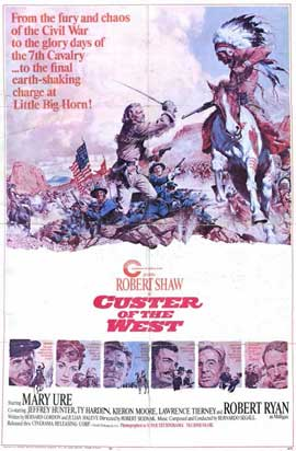 Custer of the West - 11 x 17 Movie Poster - Style A