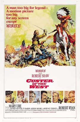 Custer of the West - 27 x 40 Movie Poster - Style B