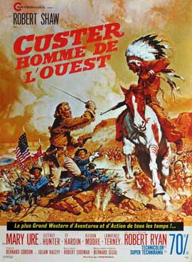 Custer of the West - 11 x 17 Movie Poster - French Style A