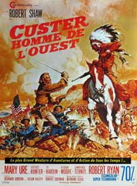 Custer of the West - 27 x 40 Movie Poster - French Style A