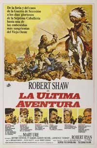 Custer of the West - 11 x 17 Movie Poster - Spanish Style B