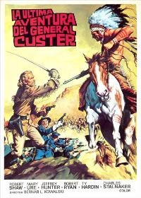 Custer of the West - 11 x 17 Movie Poster - Spanish Style C