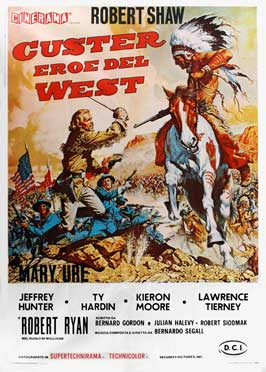 Custer of the West - 27 x 40 Movie Poster - Italian Style A