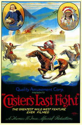 Custer's Last Fight - 11 x 17 Movie Poster - Style A