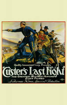Custer's Last Fight - 11 x 17 Movie Poster - Style B