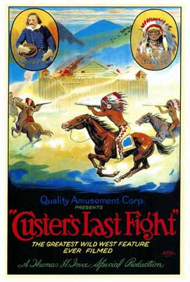 Custer's Last Fight - 27 x 40 Movie Poster - Style A