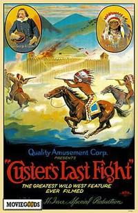 Custer's Last Fight - 43 x 62 Movie Poster - Bus Shelter Style A