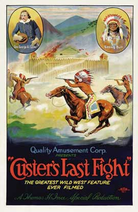 Custer's Last Raid - 27 x 40 Movie Poster - Style A