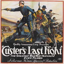 Custer's Last Raid - 27 x 40 Movie Poster - Style B