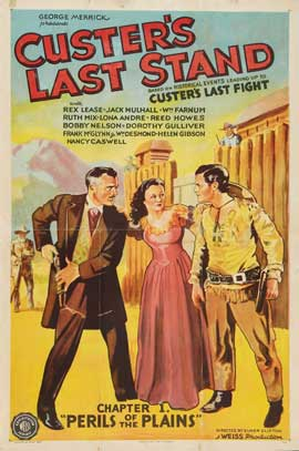 Custer's Last Stand - 27 x 40 Movie Poster - Style A