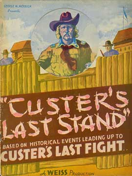 Custer's Last Stand - 11 x 17 Movie Poster - Style B