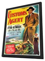 Customs Agent - 27 x 40 Movie Poster - Style A - in Deluxe Wood Frame
