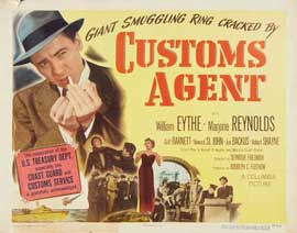 Customs Agent - 22 x 28 Movie Poster - Half Sheet Style A