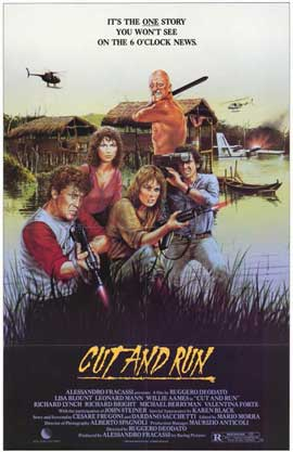 Cut and Run - 11 x 17 Movie Poster - Style B
