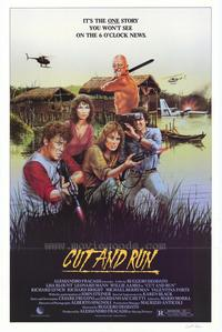 Cut and Run - 27 x 40 Movie Poster - Style B