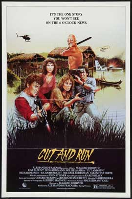 Cut and Run - 27 x 40 Movie Poster - Style D