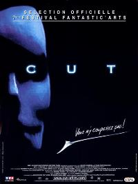 Cut - 11 x 17 Movie Poster - French Style A