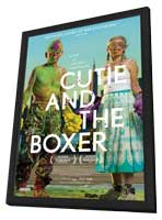 Cutie and the Boxer - 11 x 17 Movie Poster - Canadian Style A - in Deluxe Wood Frame