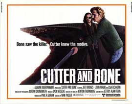 Cutter and Bone - 11 x 14 Movie Poster - Style A