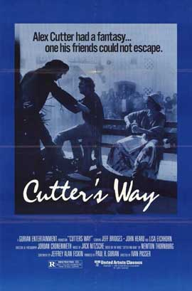 Cutter's Way - 11 x 17 Movie Poster - Style A