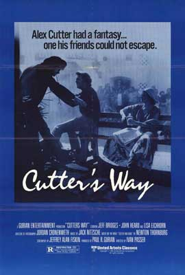Cutter's Way - 27 x 40 Movie Poster - Style A