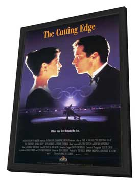 The Cutting Edge - 27 x 40 Movie Poster - Style C - in Deluxe Wood Frame