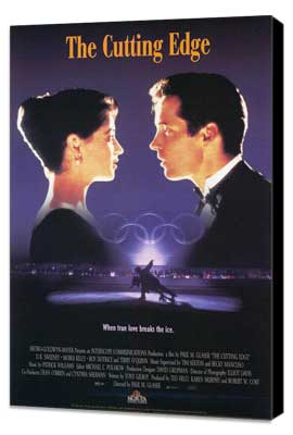 The Cutting Edge - 27 x 40 Movie Poster - Style C - Museum Wrapped Canvas