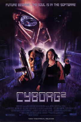 Cyborg 2 - 11 x 17 Movie Poster - Style A