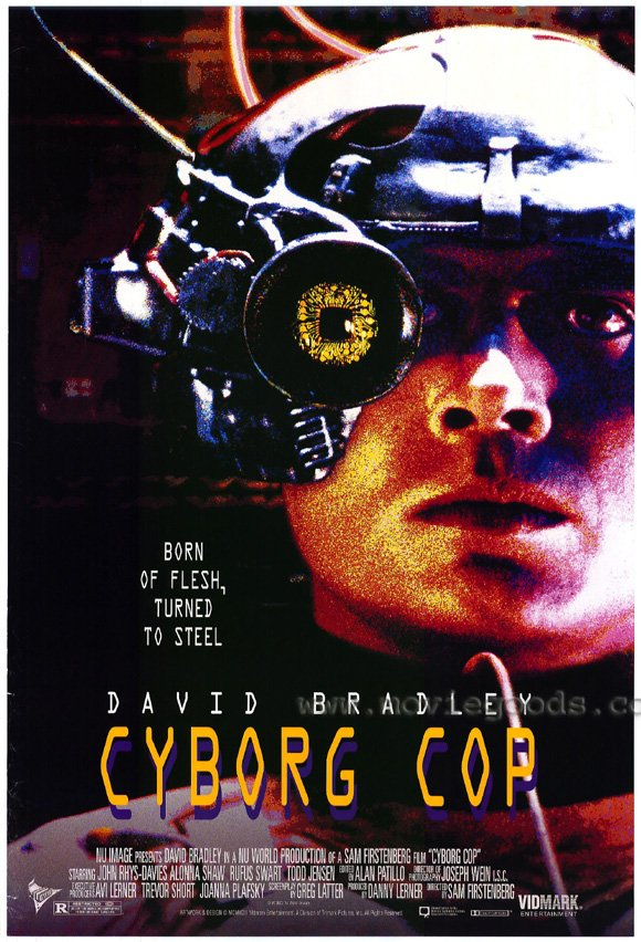 cyborg cop movie posters from movie poster shop