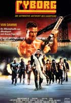 Cyborg - 11 x 17 Movie Poster - German Style A