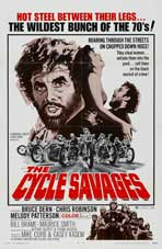 Cycle Savages - 11 x 17 Movie Poster - Style B