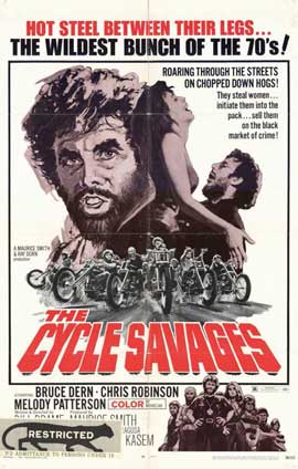 Cycle Savages - 11 x 17 Movie Poster - Style A