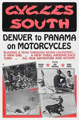 Cycles South - 11 x 17 Movie Poster - Style A
