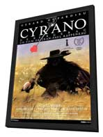 Cyrano de Bergerac - 27 x 40 Movie Poster - French Style A - in Deluxe Wood Frame