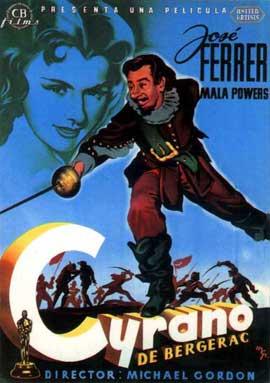 Cyrano de Bergerac - 11 x 17 Movie Poster - Style B