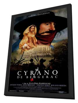 Cyrano de Bergerac - 27 x 40 Movie Poster - Style A - in Deluxe Wood Frame