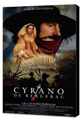 Cyrano de Bergerac - 27 x 40 Movie Poster - Style A - Museum Wrapped Canvas