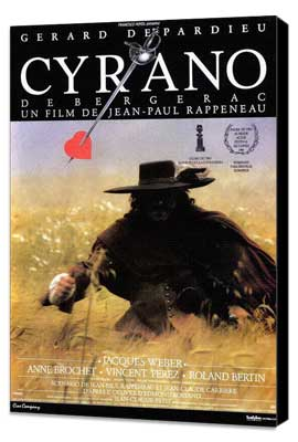 Cyrano de Bergerac - 27 x 40 Movie Poster - French Style A - Museum Wrapped Canvas